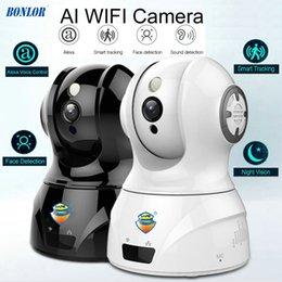 Tonerkennungskamera online-Smart WIFI PTZ FHD IP Cloud Kamera mit Alexa Sprachsteuerung Auto Smart Tracking Gesichtserkennung Sound Detection für Motion Alarm