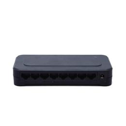Argentina 10 / 100mbps RJ45 8 puertos Fast Ethernet Switch Lan Hub EE.UU. EU Plug 5v Adaptador de fuente de alimentación Switch de red supplier plug hub Suministro