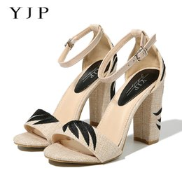 ab5779b97a67 embroidered pumps women Coupons - YJP Women 10.5cm High Heels Sandals