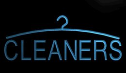 Tintorerías online-LS1622-b-Cleaners-Dry-Cleaning-Laundromat-Neon-Light-sign decor Envío gratuito Dropshipping Wholesale 8 colores para elegir