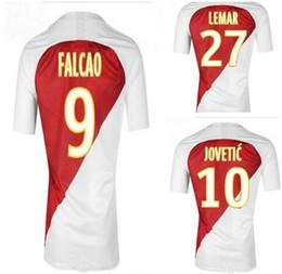 monaco UK - Customized 18-19 monaco Falcao 9 Thai Quality Soccer Jerseys Shirts,7 Rony Lopes 17 Golovin 10 Jovetic 7 Rony Lopes 8 Tielemans Soccer wear