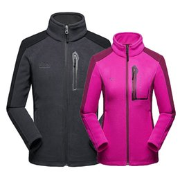 Men Women Winter Autumn Outdoor Fleece Jacket Camping Hiking Fishing  Climbing Trekking Skiing Sport Running Plus Size Coat 092069f69