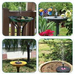 Nuovo pannello solare galleggiante della pompa dell'acqua della fontana per le piante dello stagno del giardino da
