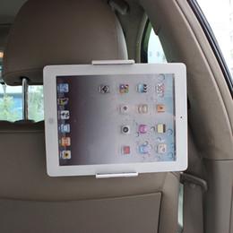 telefone tabletten zubehör Rabatt Handy Tablet PC Auto Halter Stand zurück Auto Sitz Soporte Kopfstütze Halterung Unterstützung Zubehör für GPS DVD iPad Mini Pro