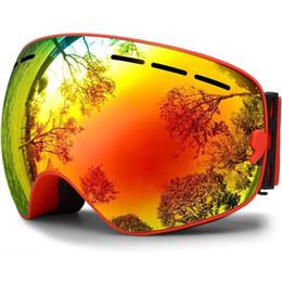 bf2ca7aba248 Adult Winter Sports Ski Goggles Double Decker Men Snowboard An-ti Fog  Riding Skiing Glasses Mountaineering Anti-fog Lens Eyewear