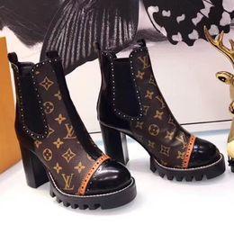 2018 senhoras de grife de luxo botas de inverno senhoras tornozelo botas de couro moda Martin botas tamanho 34-40 A37 de
