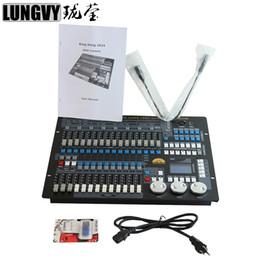 2019 luci laser mini attive con scatola kingkong 1024 Canali DMX512 DJ Discoteca Console DMX Controllo luci da palco professionale Supporto per controller a testa mobile