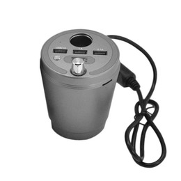Wholesale speaker socket - T873B Car Energy Cup Cigarette Socket Charger Portable Bluetooth Speaker In-car Wireless FM Transmitter Handsfree Loudspeaker