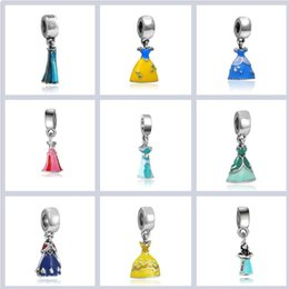 925 ale pandora charme armbänder Rabatt 925 Silber Prinzessin Rock Charms Perlen makroporöse Perlen Ale gestempelt passt europäischen Pandora Schmuck Armbänder Valentinstag Geschenk