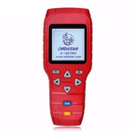 Canada Programmeur de clé automatique OBDSTAR X100 PRO (C + D + E) Prise en charge de IMMOBILIZER + Réglage du compteur kilométrique + Fonction OBD + EEPROM Outil de scanner automobile Offre