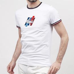 2018 arrivano famosi primavera estate designer di lusso di marca tshirt  medusa testa griglia patchwork colore uomini casual 3d maglietta del lupo  tee top 994bffeff82