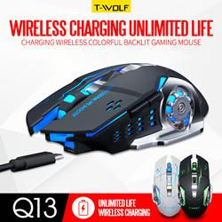 Jogo profissional mouse sem fio carregamento colorido jogo luminoso mouse desktop notebook geral venda quente USB de Fornecedores de vendas de carros de corrida