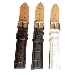 Canada En gros-2015 mode de haute qualité unisexe bracelet en cuir brun bracelet en bambou noir montre modèle 22mm montres pour hommes montre horloge bracelet 22mm Offre