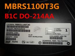 20PCS SR1100 SB1100 1A 100V Schottky Diodes NEW