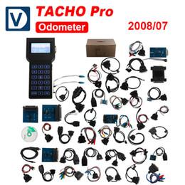 Wholesale Tacho Pro Plus Unlock - Tacho Pro 2008 Universal Dash Programmer PLUS UNLOCK Mileage Correction For Most Vehicles Fast Shipping