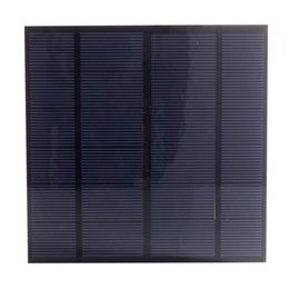 Wholesale 3w Solar Panel - 20Pcs Lot 3W 6V DIY Polycrystalline Solar Cell Panel PET Laminated Solar Cell Size 145mm*145mm for Test and Solar Project