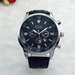 Wholesale Dz Watches - Best-selling Swiss Men Watches Montre Homme Luxury Brand Men Quartz Watches Rejoles Automatic date Male Clock dz Relogio Masculino