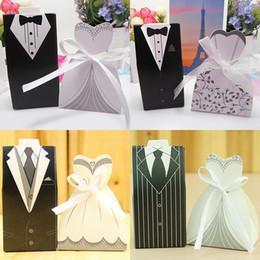 Бумажная подарочная коробка онлайн-Галстук одежда подарок Wrap свадьба пользу мешок сладкий торт подарок конфеты Wrap бумажные коробки сумки юбилей День рождения Рождество HH7-1821
