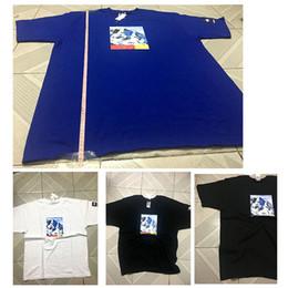 Wholesale Mountain Tee Shirts - Box Logo t shirts Mens 17FW North Snow Mountain Print Tee Brand T-shirts Summer 2018 Oversize Blouse skateboard tshirt Plus size Length 80cm