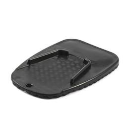 Опоры для пластин онлайн-Универсальный мотоцикл сторона стенд Moto мотоцикл Kickstand Pad поддержка Kickstand пластины Pad нескользящей стороне расширение поддержка пластиковых ног колодки