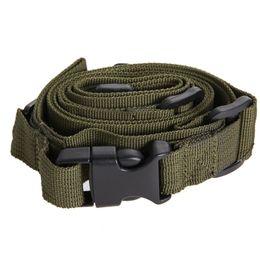 Тактический 3 точка нейлон регулируемая банджи винтовка слинг вертлюги системы страйкбол пистолет ремень пейнтбол ремень для охоты армия зеленый от