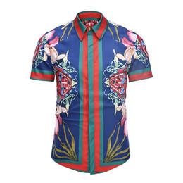 Argentina 2018 moda de manga larga camisa de vestir de los hombres de algodón delgado de los hombres camisa informal Medusa retro 3d camisa impresa Suministro