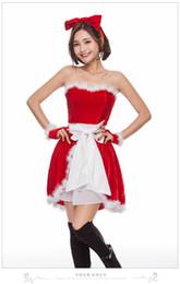 Tentação uniforme japonês on-line-2018 novo sexy trajes de Natal japonês e coreano presente de Natal festa de Natal menina role-playing uniforme tentação