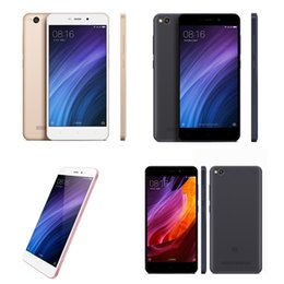 "Wholesale 13mp Camera Mobiles - Global Version Xiaomi Redmi 4A Cellphone 5.0"" 2GB RAM 16G 32GB ROM Quad Core 13MP 3120mAh LTE 4G Dual SIM Mobile Phone"