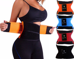 Wholesale girdle training - Sport Waist Cincher Girdle Belt Body Shaper Tummy Trainer Belly Training Corsets