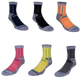 Wholesale Thick Socks For Women Winter - Unisex Wool Socks Thick Warm For Camping Ski Walking Hiking Outdoor Work Winter Thermal Crew Socks for Men and Women Free DHL G498S