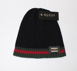 Wholesale Female Beanies - Knitted Hat Ball Beanies Winter Hat For Women Girl 'S Wool Hat Cotton Skullies Female Cap