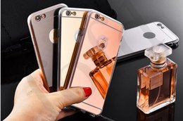 Wholesale Cheap Iphone Backs - Glitter Bling Luxury Mirror Electroplating Soft Clear TPU Cases For iphone X 10 8 7 6S plus Samsung Note8 S7 S8 Cheap Protective Back Cover