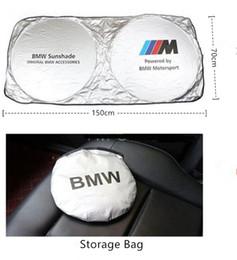 Parabrezza universale per auto Parasole Blocchi Raggi UV Visiera parasole pieghevole per BMW Benz Audi Toyota Lexus Honda Volvo Cadillac Alta qualità cheap quality honda da qualità honda fornitori
