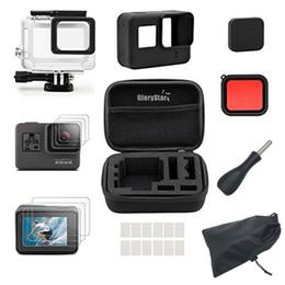 Für Gopro Zubehör Set Für Gopro Hero 5 Hero6 Kamerahalterung Wasserdichtes Gehäuse mit Silikon-Schutzfolie von Fabrikanten