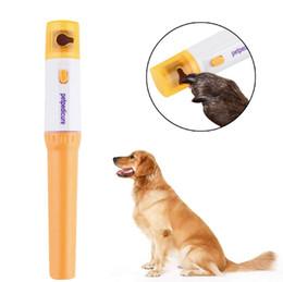 Бесплатно EMS электрический безболезненный Pet Nail Clipper Pedi Pet собаки кошки Лапа ногтей триммер вырезать домашние животные шлифовальный файл комплект уход продукты Protable B от