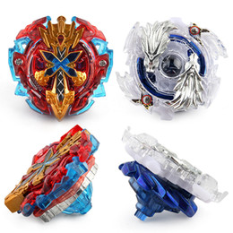 Wholesale beyblade metal fight launcher - Beyblade Burst with Launcher Metal Plastic Spinning Top Kid Fighting Beyblade Toys Beyblade Metal Fusion 4D Boys Birthday Gift Toys