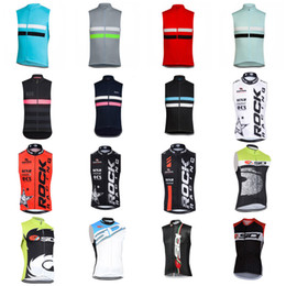 Wholesale Cycling Vest Men - RAPHA ROCK RACING SIDI team Cycling Sleeveless jersey Vest 100% Polyester Top Quality Summer Homme Ropa Ciclismo C2308