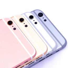 2019 iphone 6s logement de remplacement Pour iPhone 6S / 6S Plus, couvercle de la batterie arrière, boîtier de porte arrière, boîtier de remplacement du corps du châssis central pour Apple iPhone 6S, boîtier arrière iphone 6s logement de remplacement pas cher