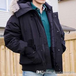 Wholesale Parka Cotton - Fashion Winter Hooded Down Jackets Brand Designer Bomber Parka Collar Zippers Jacket Men Warm Luxury Parkas Outdoor Coats High Quality