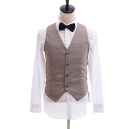 2017 nuovi uomini giacca sportiva kaki singolo pulsante maschile vestito gilet matrimonio maschile partito Vintage Slim Fit formale classico gilet da