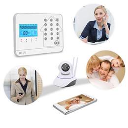 2019 alarme de zone à la maison Intelligence WIFI GSM Boutique de cartes de téléphone portable Portes et Windows Sécurité Système de défense Garde des ménages contre le vol Un cambrioleur Alar
