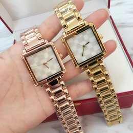 Wholesale Watch Women Rose Gold Square - Fashion Luxury Square Women Watch gold silver rose gold Famous brand Quartz Dress Watch special style Lady Wristatch Relojes De Marca Mujer