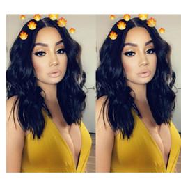 pelucas de moda new wave Rebajas Nuevas mujeres de la manera de la llegada aman el pelo brasileño Ameri Ameri onda suelta simulación del pelo humano onda suelta peluca