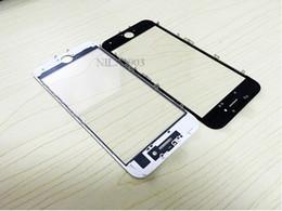 2019 iphone 6s oca A +++ qualité lentille extérieure en verre + colle froide OCA adhésif + cadre moyen pour iphone 6.6p.6s plus.7.7plus.8.8plus iphone 6s oca pas cher