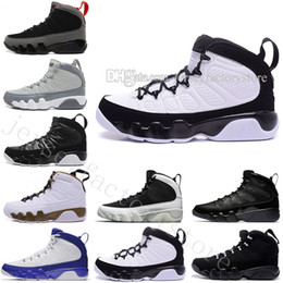 Wholesale footwear rivets - Cheap New 9s Basketball Shoes IX 9 Suede Men Basketball Sport Footwear Sneakers Trainers Outdoor designer Shoes 4-5-6-7-8-9-10-11-12-13-14