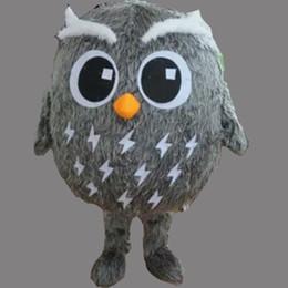 Gewohnheit eule kostüm online-Erwachsene Größe Eule Maskottchen benutzerdefinierte Weihnachten Nacht Katze Eule Kostüm Shool Ereignis Geburtstagsfeier Kostüm Maskottchen