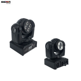 Wholesale Moving Head Usa - Led Beam Wash Double Sides Professional Stage Effect Light RGBW 15 21 Channels Rotating Moving Head for KTV Club Party