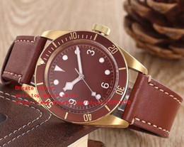 f7ec21f922e 2018 versão mais recente 6 cor AAA relógios 79200B KW DIVE assistir 41.5mm  pulseira de couro Alta qualidade relógio mecânico automático dos homens à  venda ...
