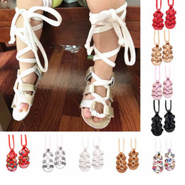 Wholesale Roman Sandals Style Shoes - 10 colors new arrivals Roman style baby girl first walkers sandal tassel design summer infant shoes toddler soft causal shoes