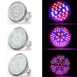 Wholesale Indoor Growing Lighting - 30W 50W 80W PAR38 E27 LED Grow Light Grow Bulbs Lamp for Indoor Plants Garden Greenhouse Hydroponic Plants Full Spectrum AC 85-265V